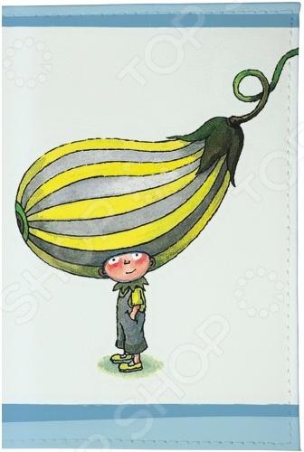 Обложка для паспорта кожаная Mitya Veselkov «Мальчик-кабачок»Обложки для паспортов<br>Mitya Veselkov Мальчик-кабачок это современная и ультрамодная обложка для вашего паспорта. Украшенная дизайнерским принтом с внешней стороны модель, предназначена для людей, которые хотят сделать жизнь ярче, красочней, а к традиционным вещам подходят творчески. Изделие подходит как для внутреннего, так и заграничного удостоверения личности. Изготовленная из натуральной кожи обложка, надежно защитит важный документ от внешнего воздействия, поэтому он всегда будет как новый. Придайте паспорту оригинальности и подчеркните свою уникальность!<br>