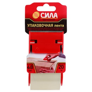 Купить Лента упаковочная в диспенсере Сила TPA72-00