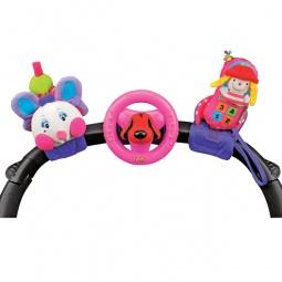 Купить Набор развивающих игрушек для коляски K'S Kids «Гусеничка, руль и телефон»