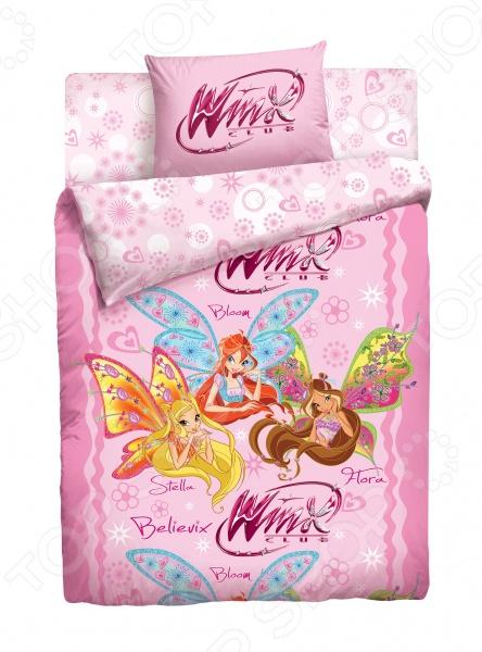 Комплект постельного белья Winx «Волшебницы». 1,5-спальный