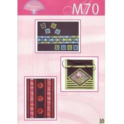 Купить Набор схем для парчмента Pergamano M70 Цветное на черном