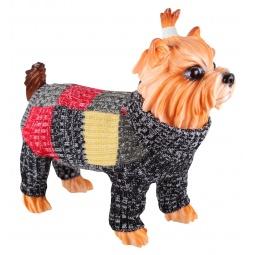 Купить Свитер для собак DEZZIE «Клеточка»