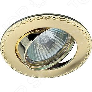 Светильник встраиваемый поворотный Эра KL23 А SG/G