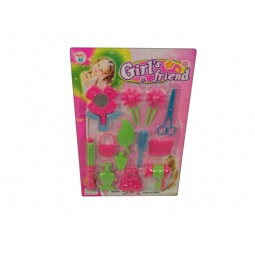 фото Игровой набор для девочки Shantou Gepai «Набор парикмахера с аксессуарами»