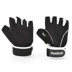 фото Перчатки для фитнеса Reebok. Размер: L/XL. Цвет: черный