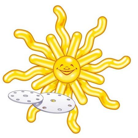 Купить Набор шариков для декорирования Everts «Солнышко»