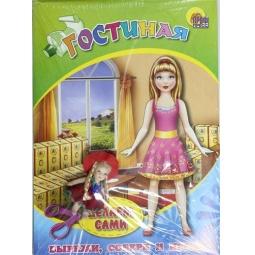 фото Объемная мебель с куколкой. Гостиная