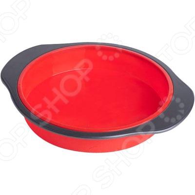 Форма для выпечки силиконовая Bekker BK-9435Силиконовые формы для выпечки и запекания<br>Форма для выпечки силиконовая Bekker BK-9435 станет вашим постоянным помощником на кухне. При помощи формы вам удастся приготовить не только вкусные сладкие блюда, но и придать им классическую круглую форму, которая которая дает простор фантазии и творчеству для создания выпечки, могущей стать запоминающимся элементом праздничного стала. Изготовленная из медицинского силикона, который абсолютно инертен, форма обеспечивает защиту вашей выпечки от пригорания, а так же без труда моется и может быть использована в духовке, микроволновой печи, газовом или электрическом шкафу, при температуре 250 градусов. Так же может быть помещена в холодильник и храниться при температуре, до - 50 градусов.<br>