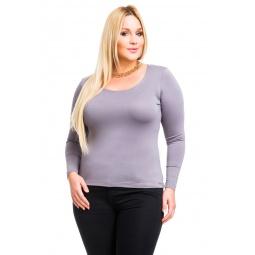 фото Кофта Mondigo XL 436. Цвет: серый. Размер одежды: 48