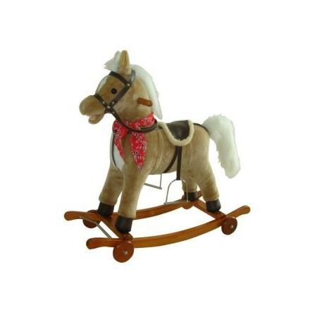 Купить Лошадка-качалка Shantou Gepai на колесах 61053
