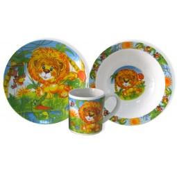 фото Набор детской посуды Viconte VC-1205 «Львенок»