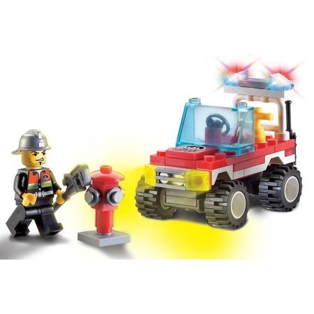Купить Конструктор игровой Brick «Пожарная машина» 1717081