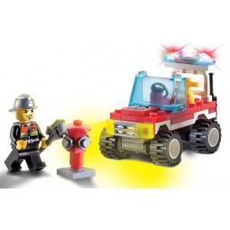 фото Конструктор игровой Brick «Пожарная машина» 1717081