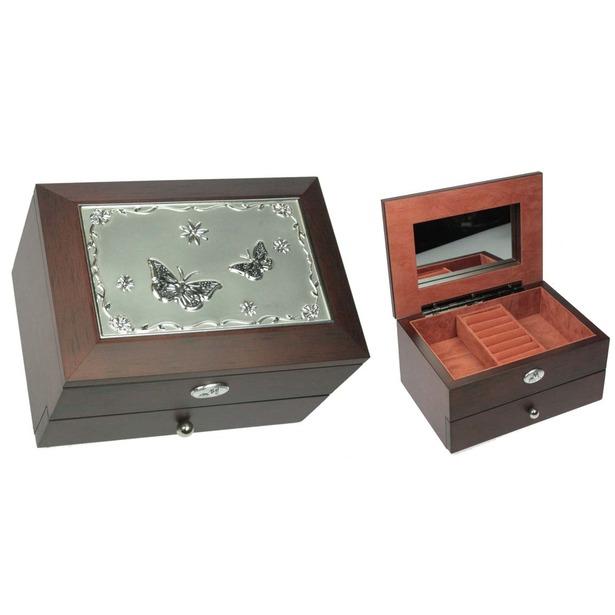 Шкатулка ювелирная двухъярусная Moretto 39583 купить по низкой цене ... 99c08d4261a