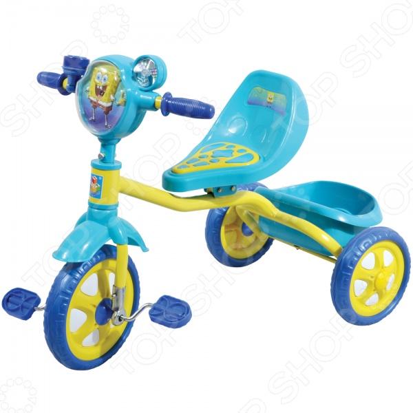 Велосипед трехколесный 1 Toy Т57655 «Губка Боб»