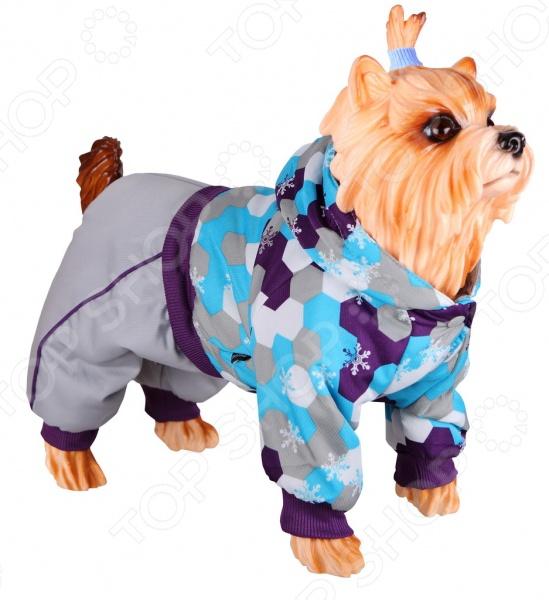 Комбинезон для собак DEZZIE 563554 триол комбинезон зимний микки для собак trio l