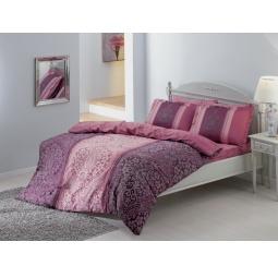 фото Комплект постельного белья TAC Damas. 1,5-спальный. Цвет: фиолетовый