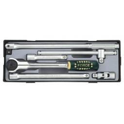 Купить Набор инструмента с трещоткой Force F-40613-23