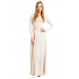 фото Платье Mondigo 7003. Цвет: бежевый. Размер одежды: 48