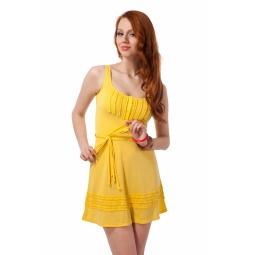 фото Сарафан Mondigo 8599. Цвет: желтый. Размер одежды: 42