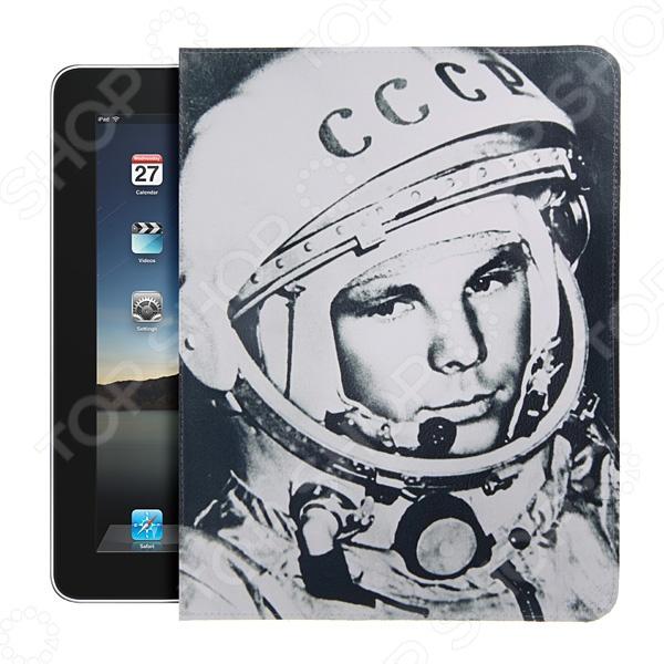 Чехол для iPad Mitya Veselkov «Гагарин» чехлол для ipad iphone mitya veselkov чехол для iphone 6 гагарин ip6 мitya 016