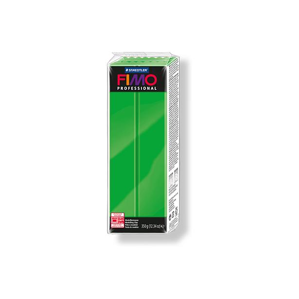 фото Глина полимерная запекаемая Fimo Professional 8001. Цвет: ярко-зеленый