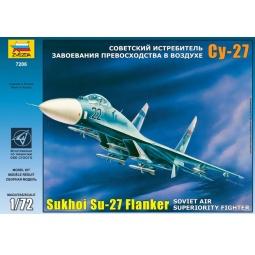 фото Сборная модель Звезда Самолет «Су-27»