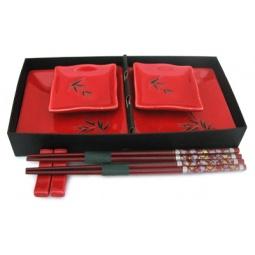 Купить Набор для суши Elan Gallery «Бамбук» квадратный