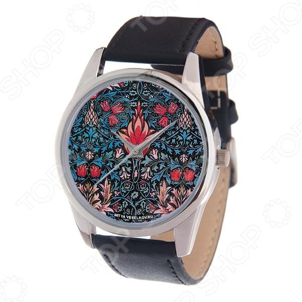 Часы наручные Mitya Veselkov «Тюльпановый принт» MV