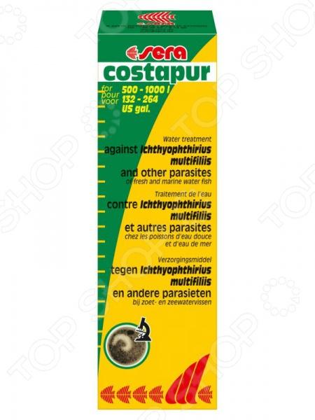 Средство лекарственное для аквариумных рыб Sera Costapur средство для воды sera baktopur direct 24 таблетки