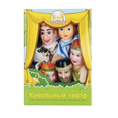 Купить Набор для кукольного театра Жирафики «Аленький цветочек»