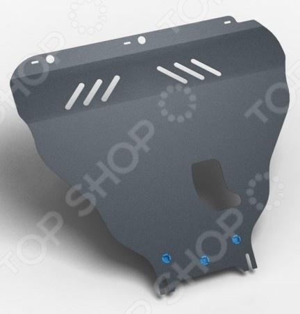 Комплект: защита картера и крепеж Novline-Autofamily Ford Mondeo 2014: 2,0/2,5 бензин АКППЗащита картера двигателя<br>Комплект: защита картера и крепеж Novline-Autofamily Ford Mondeo 2014: 2,0 2,5 бензин АКПП обеспечит надежную защиту двигателя от внешних факторов. Крепежные элементы с оцинкованной поверхностью устойчивы к воздействию агрессивной внешней среды, антигололедных реагентов, что исключает заедание резьбы и уменьшает риск появления ржавчины в месте соединения с кузовом. Также предусмотрены демпферы для защиты при движении на большой скорости, они гасят колебания в точках соприкосновения с кузовом. Специальное порошковое покрытие обеспечивает высокую защиту всех металлических поверхностей от воздействия коррозии, царапин и других механических повреждений. Защита была разработана специально для российских дорог, поэтому элементы смогут выдерживать удары при наезде на некоторые препятствия, при этом обеспечивать эффективную защиту узлов и других агрегатов. Заглушки в отверстия для технического обслуживания автомобиля поставляются в комплекте. Товар, представленный на фотографии, может незначительно отличаться по форме от данной модели. Фотография представлена для общего ознакомления покупателя с цветовым ассортиментом и качеством исполнения товаров данного производителя.<br>