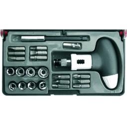 Купить Отвертка пистолетная реверсивная с набором бит FIT 56283