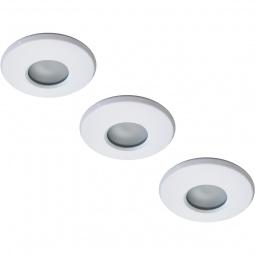 Купить Светильник встраиваемый для ванной Arte Lamp Aqua A5440PL-3WH