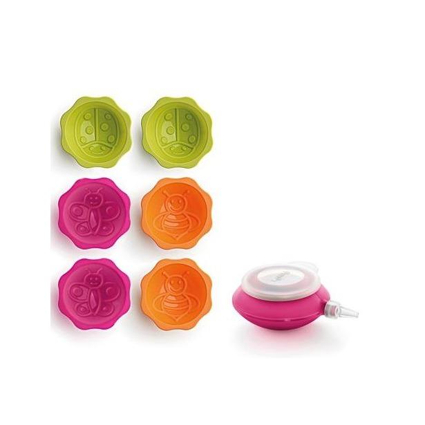 фото Набор мини-форм для выпечки LEKUE Декомини Кидс «Сад»