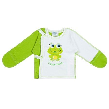 Купить Распашонка Курносики «I love frog»