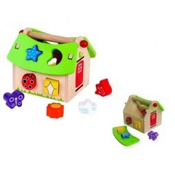 Купить Сортер деревянный Toys Lab «Летний домик»