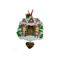 фото Елочное украшение Crystal Deco «Наш сладкий дом»
