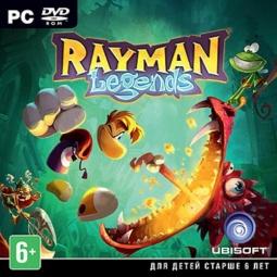 Купить Игра для PC Rayman Legends (Jewel)