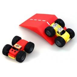 фото Набор машинок игрушечных Shantou Gepai «Сальто c рампой»
