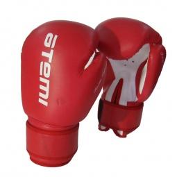 фото Перчатки боксерские ATEMI LTB19018. Размер: 14 OZ. Цвет: белый, синий