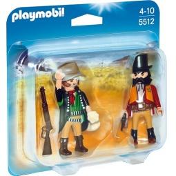 фото Конструктор игровой Playmobil «Дикий запад: Набор Шериф и бандит»