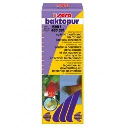 фото Средство лекарственное для аквариумных рыб Sera Baktopur. Объем: 100 мл