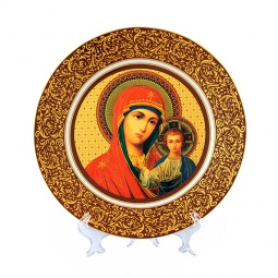 Купить Тарелка декоративная Elan Gallery «Казанская Божья Матерь» 340024