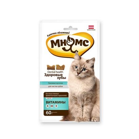 Купить Лакомство для кошек Мнямс «Лакомые кусочки. Здоровые зубы»