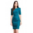 Фото Платье Mondigo 5205. Цвет: болотный. Размер одежды: 44