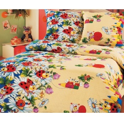 фото Детский комплект постельного белья Бамбино «Карандаши»