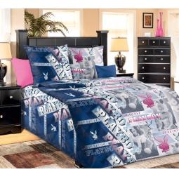 фото Комплект постельного белья Белиссимо «Плейбой». 1,5-спальный