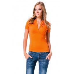 фото Футболка Mondigo 7046. Цвет: оранжевый. Размер одежды: 46