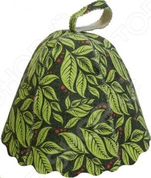 Шапка для бани и сауны Банные штучки «Листья» 41139 шапка для бани и сауны банные штучки листья 41139